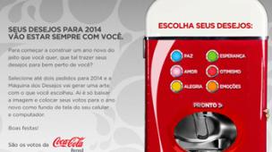 Agências M2BR e DPZ desenvolvem a Máquina dos Desejos para a Coca-Cola - M2BR Blog