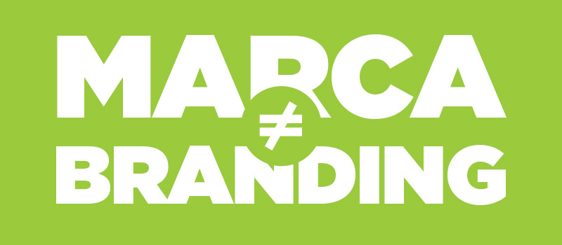 Qual a diferença entre marca e branding-