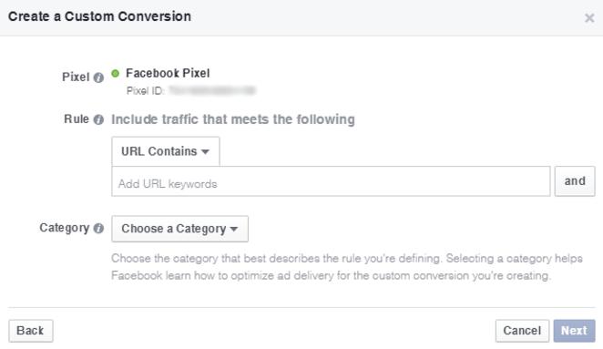 Criando uma conversão Facebook Ads - Blog da M2BR