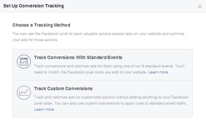 Definindo conversão Facebook Ads - Blog da M2BR