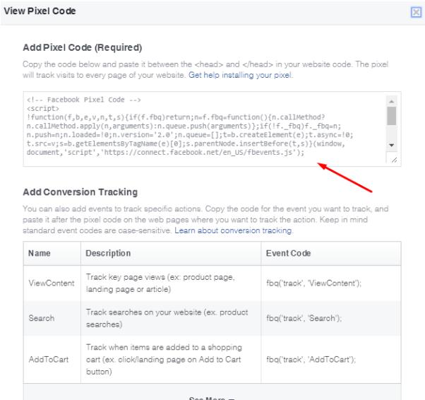Insira o Pixel do Facebook no seu site (3) - Blog da M2BR