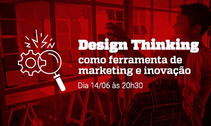 Inscreva-se para o webinar: Design Thinking como ferramenta de marketing e inovação