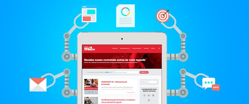 Automação de Marketing - Growth Hacking - Marketing Digital de Resultados - Blog da M2BR