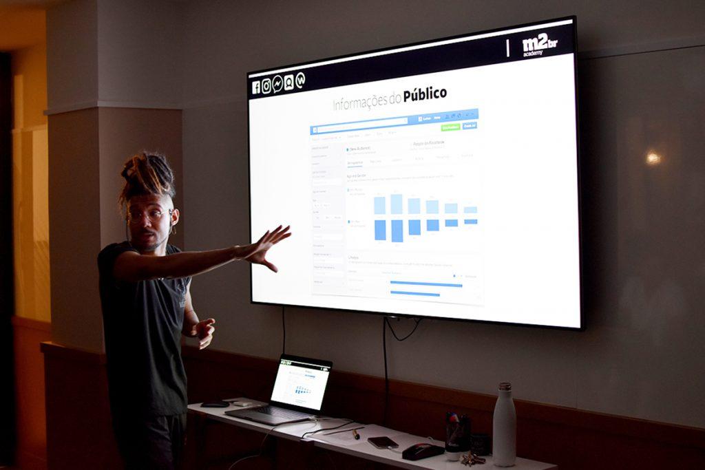 Luis Paulo, sócio e professor da M2BR Academy.