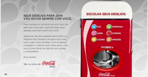 Máquina dos Desejos Coca-Cola